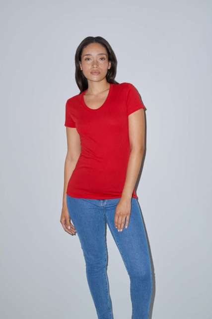 WOMEN'S POLY-COTTON SHORT SLEEVE T-SHIRT