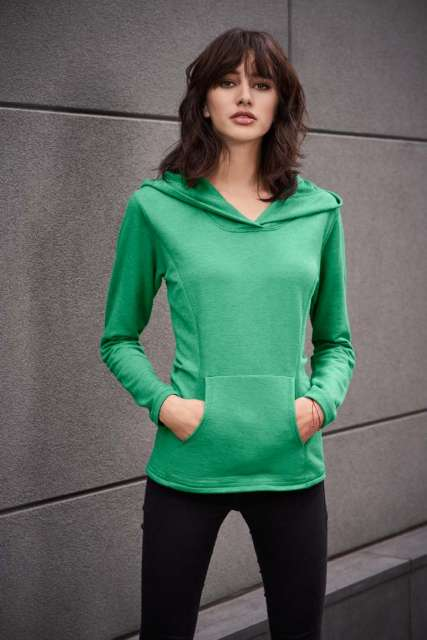 WOMEN'S HOODED FRENCH TERRY
