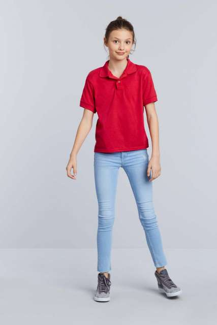 DRYBLEND<SUP>®</SUP> YOUTH DOUBLE PIQUÉ POLO SHIRT
