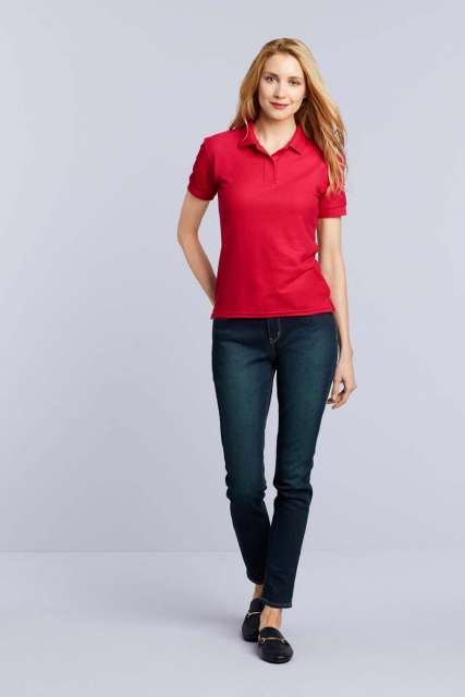 DRYBLEND<SUP>®</SUP> LADIES' DOUBLE PIQUÉ POLO