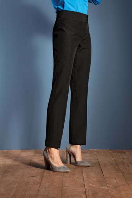 LADIES' 'IRIS' STRAIGHT LEG TROUSERS