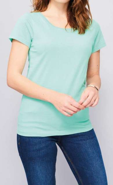 SOL'S MIA WOMEN'S ROUND-NECK FITTED T-SHIRT