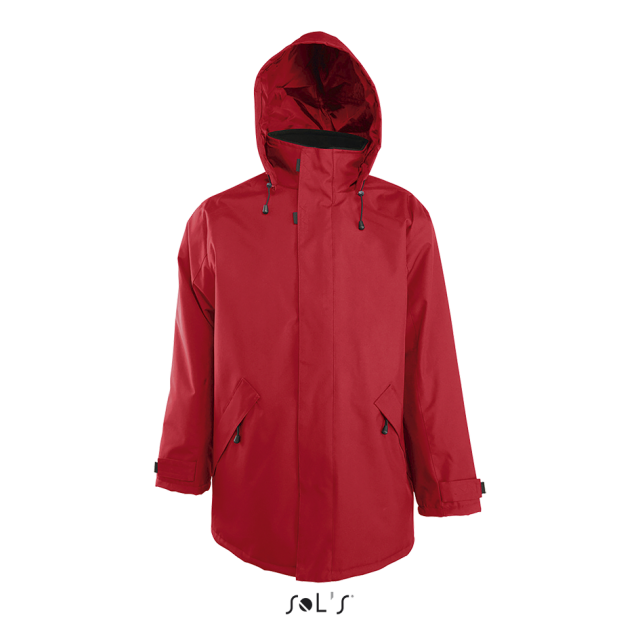 RIVER UNISEX PARKA WITH QUILTED LINING