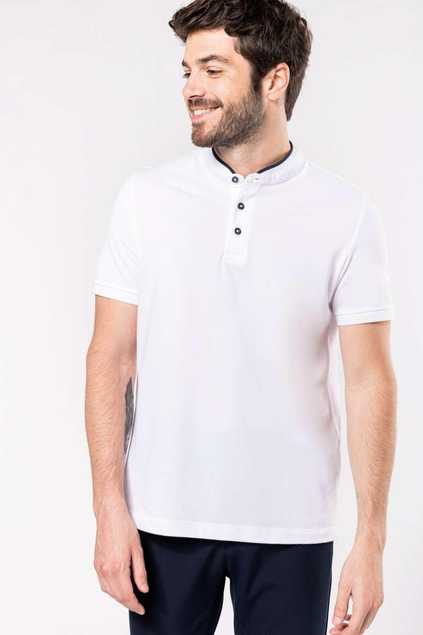 Gildan Men/'s Short Sleeve Ultra 100/% Cotton Jersey Polo Shirt White w Navy 2XL