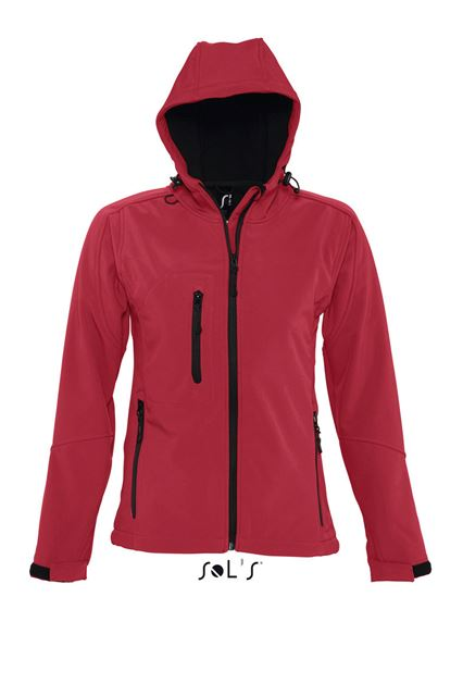 REPLAY WOMEN - HOODED SOFTSHELL 10583c289d