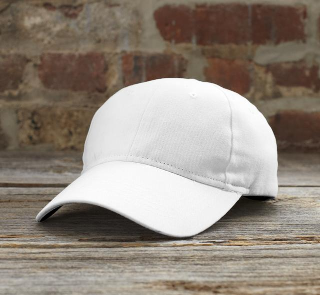 solid brushed twill cap 1.