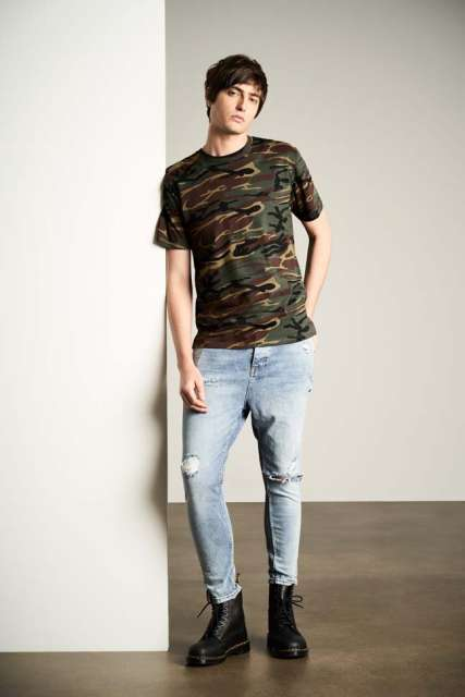 adult midweight camouflage tee 1.