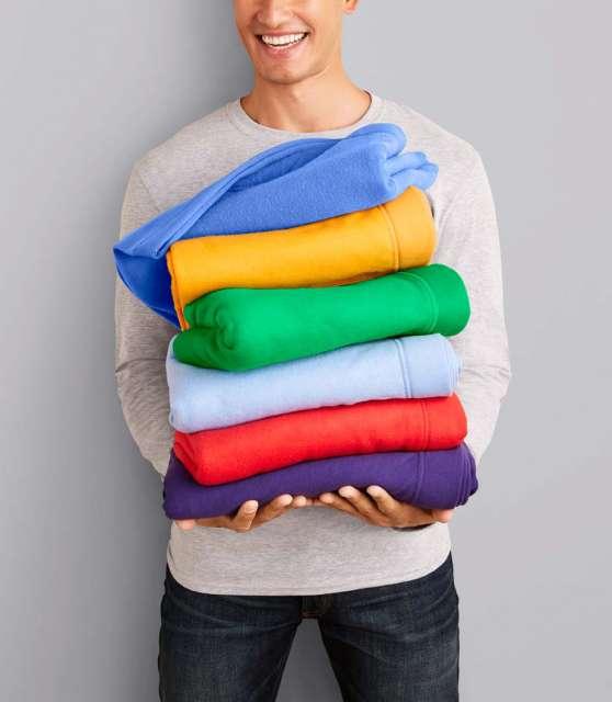 dryblend® fleece stadium blanket 1.