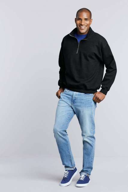 heavy blend™ adult vintage cadet collar sweatshirt 1.
