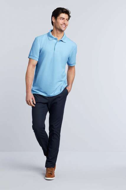 dryblend® adult double piquÉ polo 1.