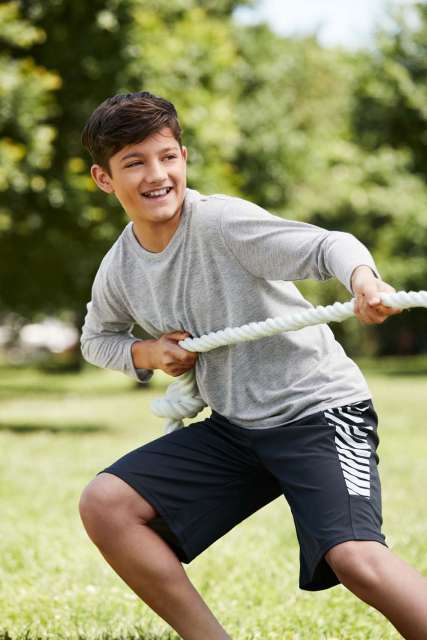 performance® youth long sleeve t-shirt 1.