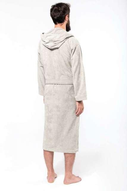 velour hooded bathrobe 1.