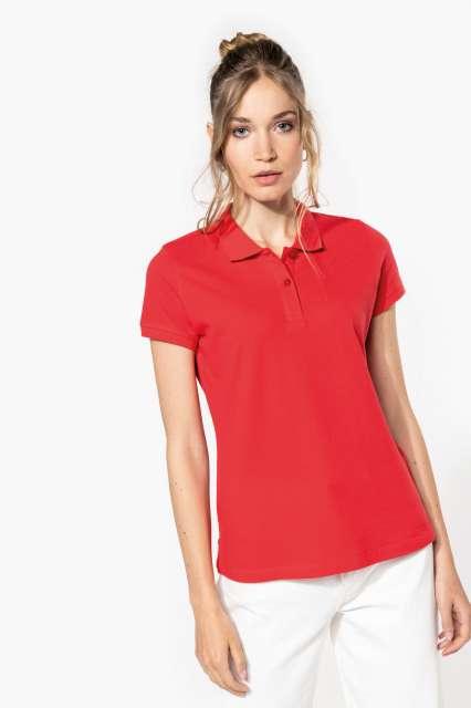 ladies' short-sleeved polo shirt 1.