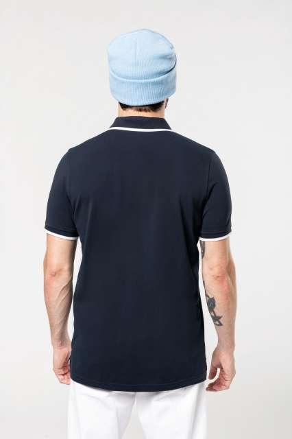 men's short-sleeved polo shirt 1.