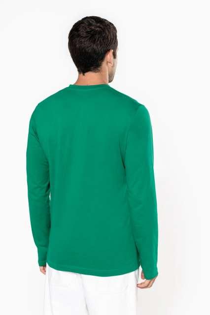 men's long-sleeved v-neck t-shirt 1.