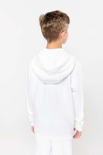 kids full zip hooded sweatshirt 1.