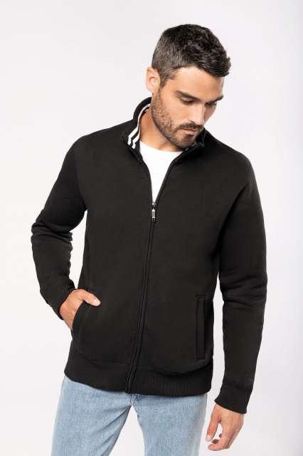men's full zip sweat jacket 1.