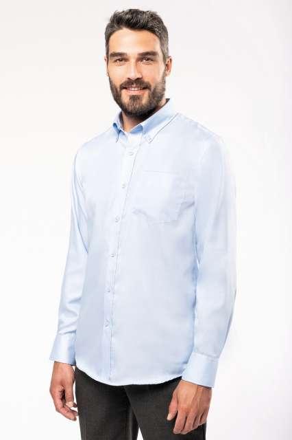 long-sleeved non-iron shirt 1.