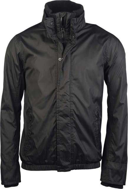 fleece lined blouson jacket 1.