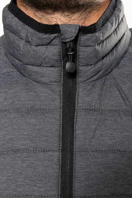 men's lightweight sleeveless fake down jacket 1.