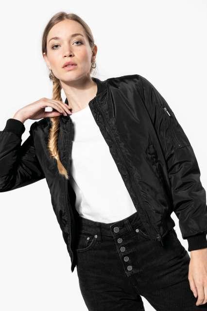ladies' bomber jacket 1.