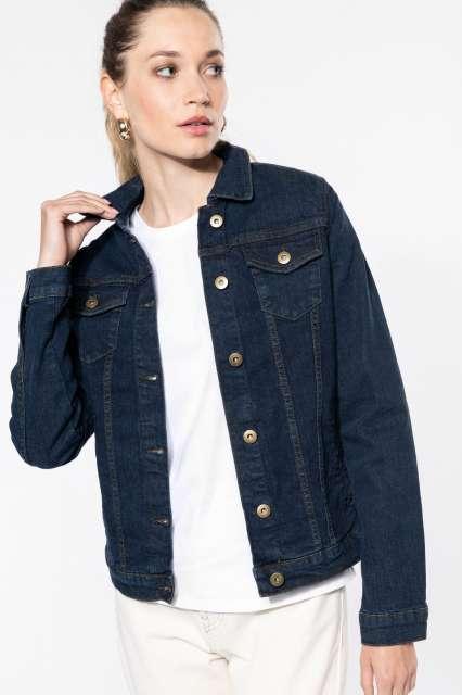 ladies' unlined denim jacket 1.