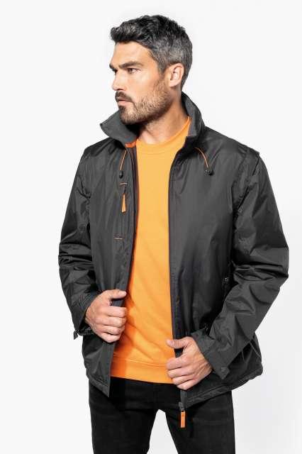 score - detachable-sleeved blouson jacket 1.