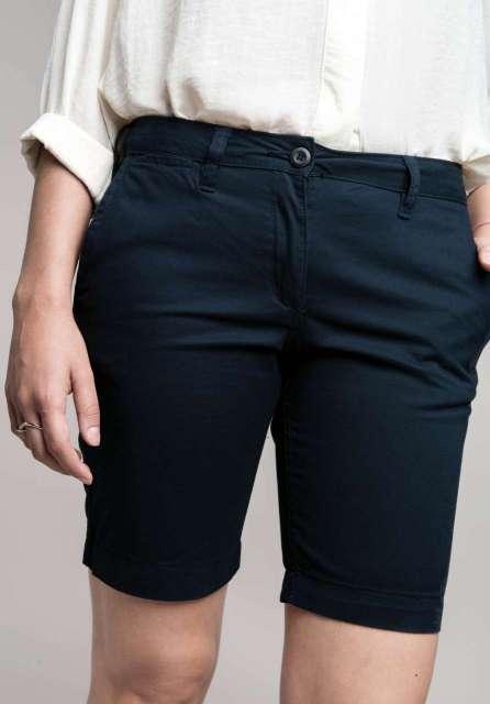 ladies' chino bermuda shorts 1.