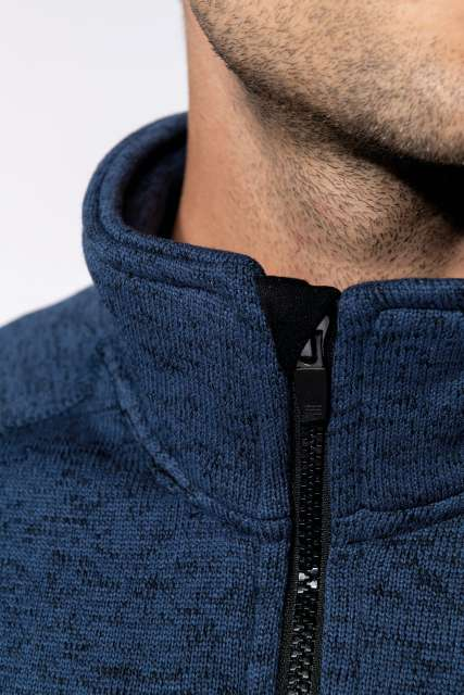 men's full zip heather jacket 1.