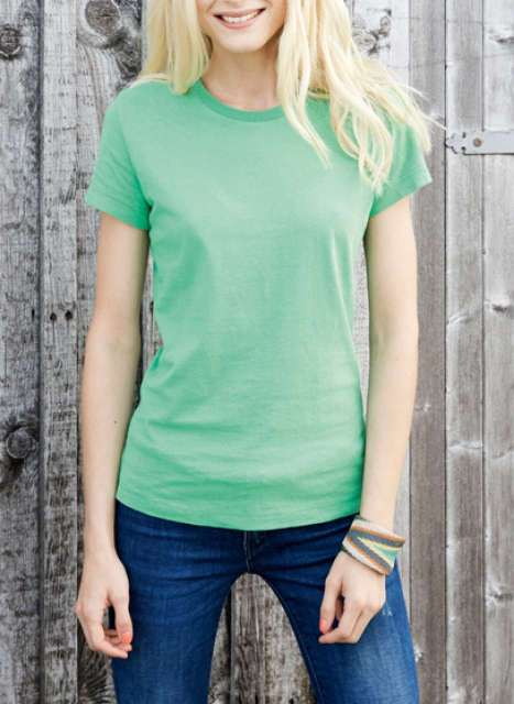 ladies' short sleeve vintage t-shirt 1.