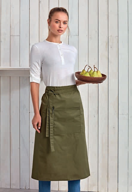 'colours collection' bar apron with pocket 1.