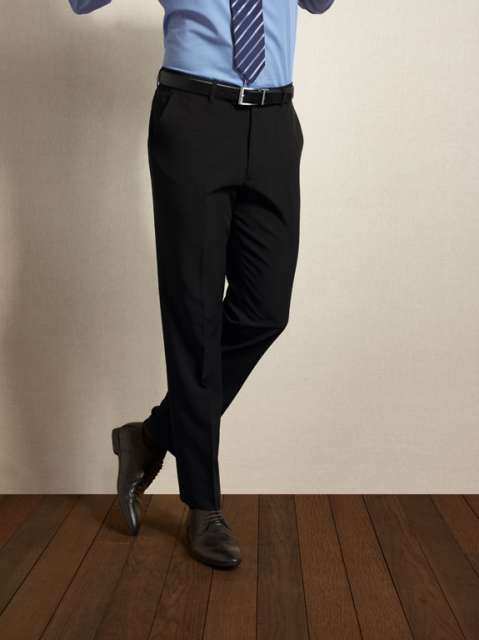 men's tailored polyester trousers 1.