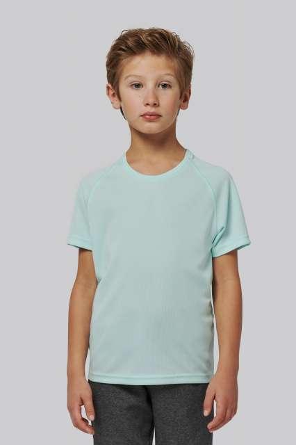 kids' short sleeved sports t-shirt 1.