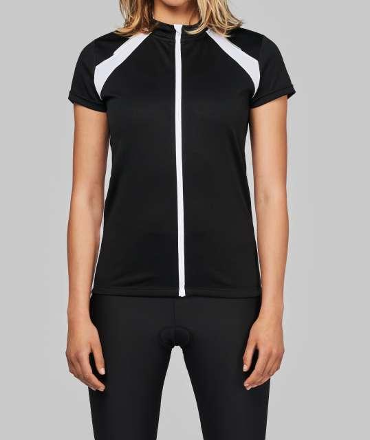 ladies' short sleeve bikewear top 1.
