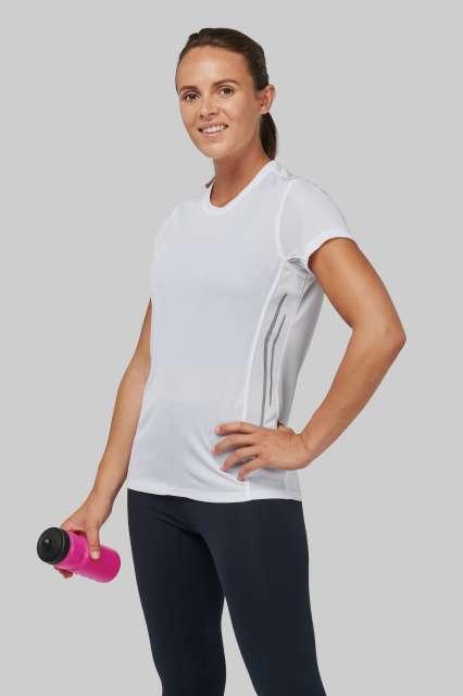 ladies' short sleeve sports t-shirt 1.