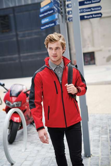 hydroforce - 3-layer membrane hooded softshell 1.