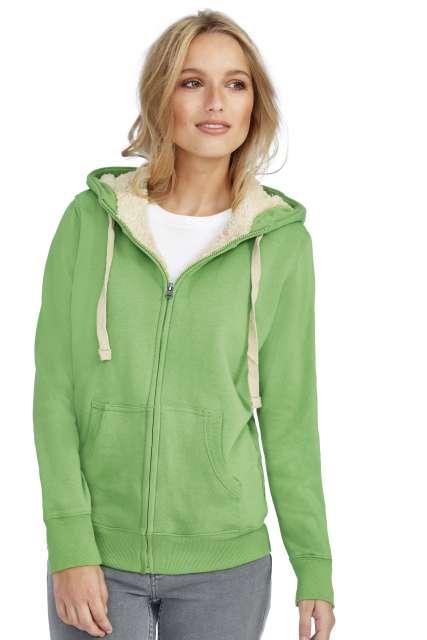 sherpa - unisex zipped jacket with