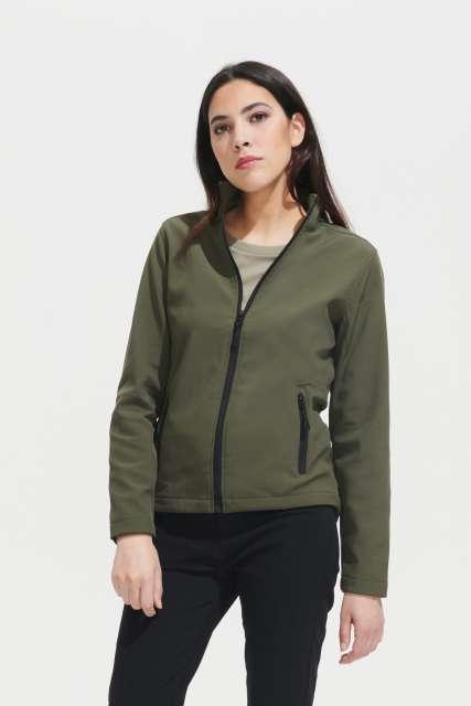 race women - softshell zip jacket 1.