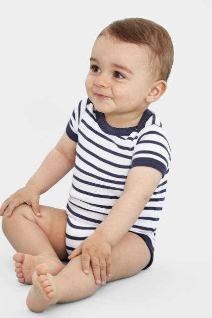 miles baby - striped bodysuit 1.