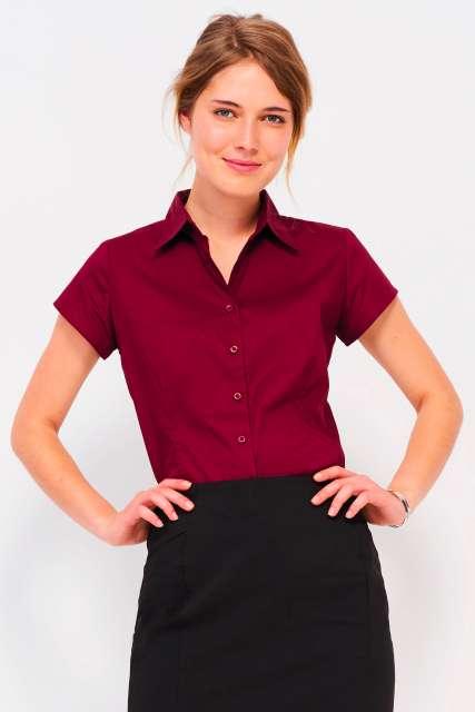 excess - short sleeve stretch women's shirt 1.