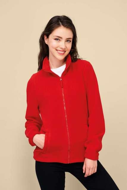 north women - zipped fleece jacket 1.