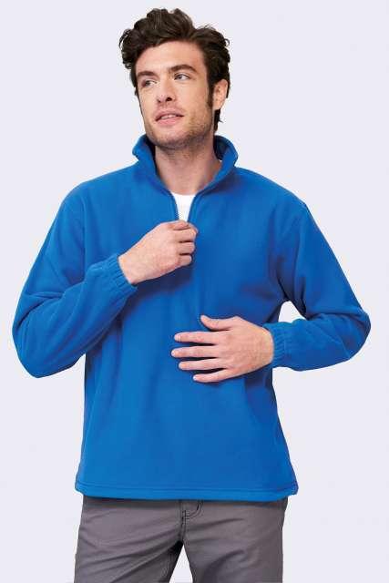 ness - fleece 1/4 zip sweatshirt 1.